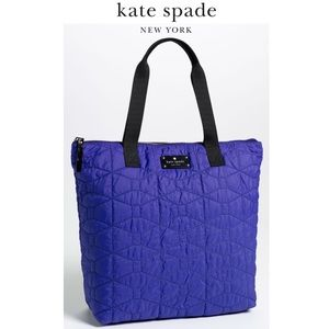 Kate Spade Quilted Bon Shopper Embroidered Bag